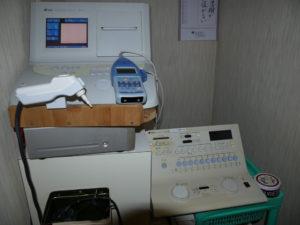 精密聴力検査機